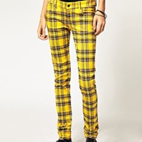 Tripp NYC | Tripp NmYC Tartan Skinny Trousers at ASOS