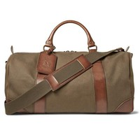 Polo Ralph Lauren Safari Green Duffle Bag