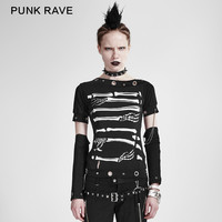 Aliexpress.com : Buy Punk RAVE Rock Black Goth Shirt Skull print fahsion women t shirt shirt FREE SHIP S XXL from Reliable women t-shirt suppliers on Punk Rave Store