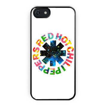 Red Hot Chili Peppers Colorfull iPhone 5/5S Case