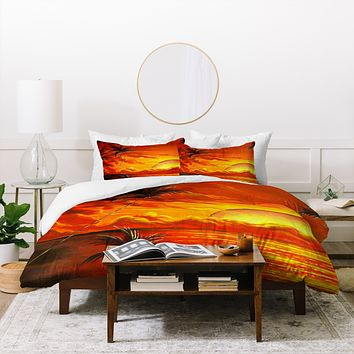 Madart Inc. Tropical Energy Duvet Cover