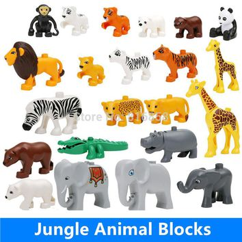 Big Building Blocks Animals