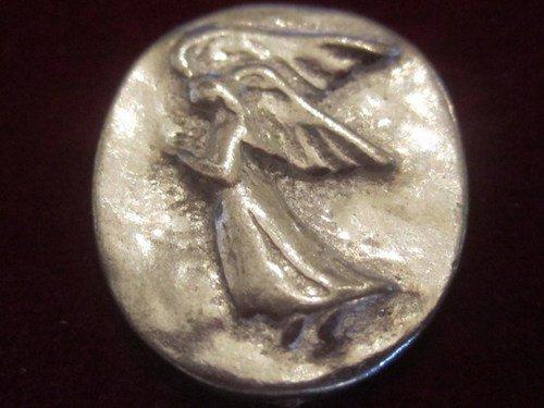 Collectible Vintage Silver Angel Coin From Artfire Com Gifts