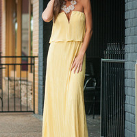 Day In The Sun Maxi Dress, Yellow