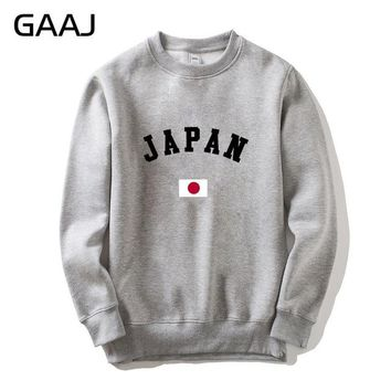 Japan Flag Men Women Sweatshirt Brand Clothing Skate East Asia Male Hoodies Jacket Popular Homme Printed Mens Clothes