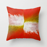 Senza Throw Pillow by Bruce Stanfield | Society6