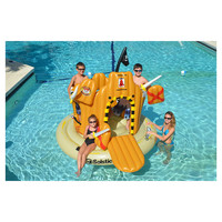 You should see this Pirate Island Pool Float in Brown on Daily Sales!