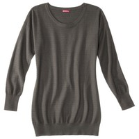 Merona® Women's Plus-Size Long-Sleeve Tunic Sweater - Assorted Colors