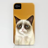 Grumpy Cat Tardar Sauce iPhone Case by Olechka | Society6