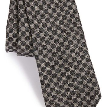Men's Todd Snyder White Label Medallion Silk & Cotton Tie, Size Regular