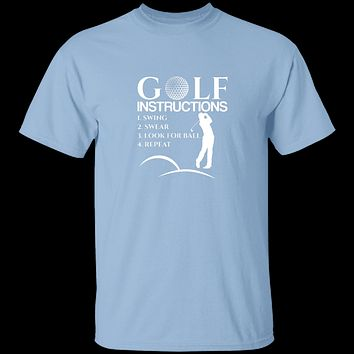 Golf Instructions T-Shirt