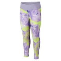 Nike Dri-FIT Skinny Preschool Girls' Leggings Size 6X (Purple)