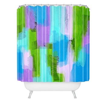 Natalie Baca Paige Shower Curtain