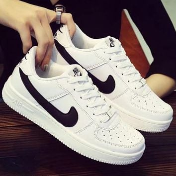 NIKE Air Force 1 Fashion Breathable Running Sneakers Sport Shoes bc8a8a697