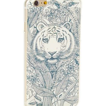 Tahitian Tiger Stencil Hard Case for iPhone 6 Plus & 6S Plus