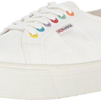 Women's Coloreycotw Fashion Sneaker Superga Rubber sole