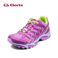 2016 Clorts Women Running Shoes Super Light Outdoor Running Sneakers Colorful Sports Walking Shoes 3F021