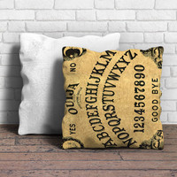 Ouija Board Spirit Alphabet Pillow | Aneend