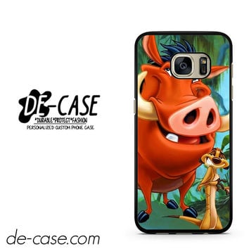 Timon And Pumba DEAL-11255 Samsung Phonecase Cover For Samsung Galaxy S7 / S7 Edge