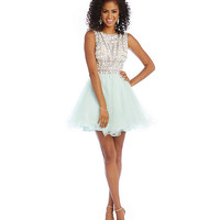 Savannah Nights Beaded Shirt Bodice Party Dress | Dillards