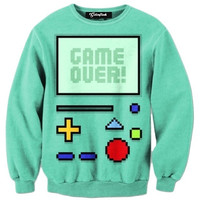 Game Over Crewneck