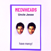 Uncle Jesse // John Stamos // Full House stud earrings