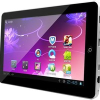 "Kocaso M1050 Google Android 4.0 4GB 1.2GHz 1GB DDR3 Ram 4GB Rom1080p HDMI Output 3D Games WiFi Front Camera 10.1"" Super Slim Tablet PC (Silver) 
