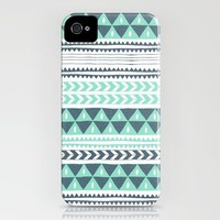 Winter Stripe No.1 iPhone Case by Alice Rebecca Potter | Society6
