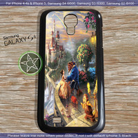 Disney Beauty & The Beast Art Design for iPhone 4, iPhone 5, Samsung S4, Samsung S3, Samsung S2 Hot Edition