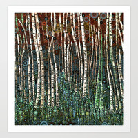 :: Wild in the Woods :: Art Print by GaleStorm Artworks