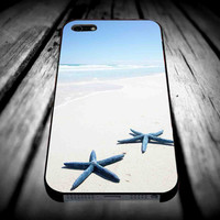Starfish on the Beach Tropical for iPhone 4/4s/5/5s/5c/6/6 Plus Case, Samsung Galaxy S3/S4/S5/Note 3/4 Case, iPod 4/5 Case, HtC One M7 M8 and Nexus Case ***