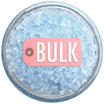 Soft Blue Chunky Sugar BULK