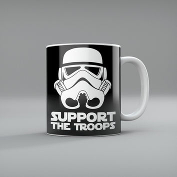 Stormtrooper Support The Troops Coffee Mug