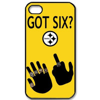 Dirt-resistant Classic NFL Pittsburgh Steelers GOT SIX WE DO Case