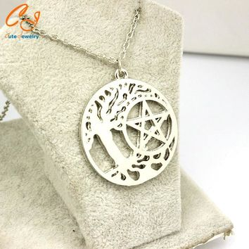 European and American movie peripheral accessories Supernatural, dean of the tree of life necklace