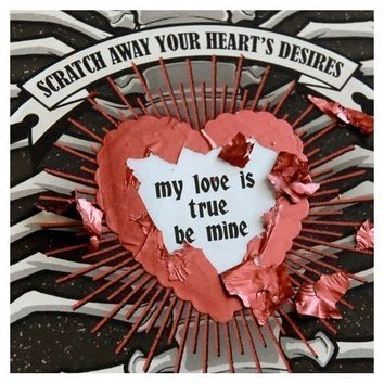 TellTale Heart Custom Scratch Off Card by crankbunny on Etsy