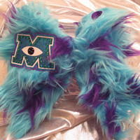 "Monsters University ""Sullivan"" Furry Cheer Bow"
