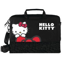 "Hello Kitty 15.4"" Notebook Bag (black)"