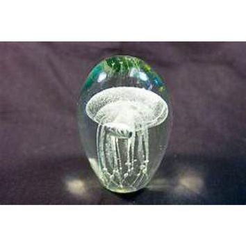 Glass Jellyfish Glow In The Dark Collection