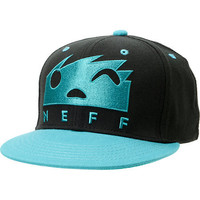 Neff Square Black & Teal Snapback Hat at Zumiez : PDP