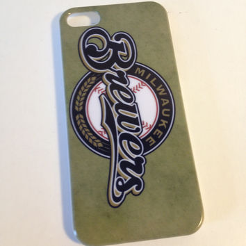 Milwaukee Brewers phone case for the Iphone 5 5s