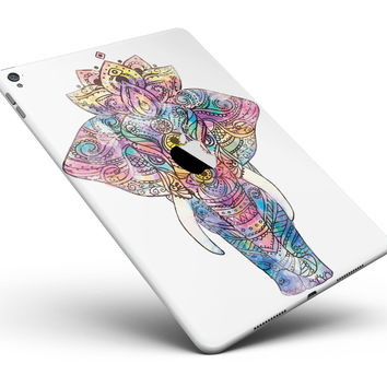 "Flourished Sacred Elephant Full Body Skin for the iPad Pro (12.9"" or 9.7"" available)"