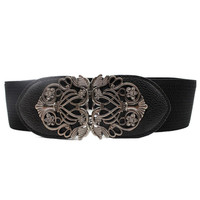 Best Deal Newest Fashion High Quality Super Accessories Alloy Flower Vintage Lady Leather WaistBelt Belt Straps For Women 1pc