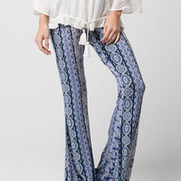 FULL TILT Paisley Patchwork Womens Flared Pants | Pants & Joggers