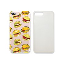 Fast Food Hamburger Slim Iphone 7 Case, Clear Iphone 7 ard Cover Case For Apple Iphone 7 -Emerishop (iphone 7)