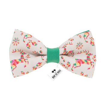 Green Deer Bow Tie