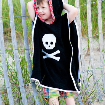 Pirate Beach / Pool Swimsuit Terry Cloth Cover Up by thetrendytot