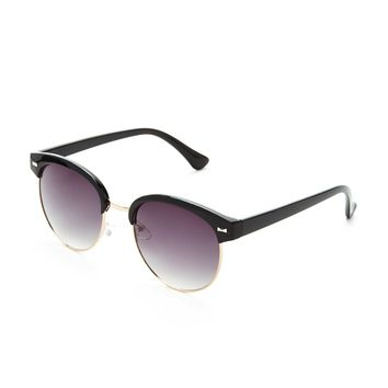 Contrast Browline Sunglasses