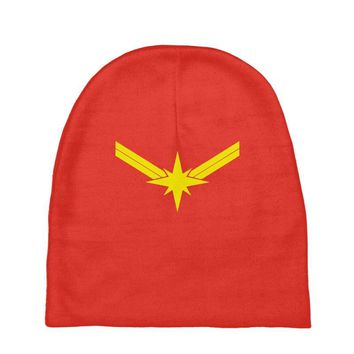 captain marvel Baby Beanies