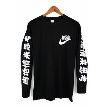 Air Japan Long Sleeve T Shirt Japanese